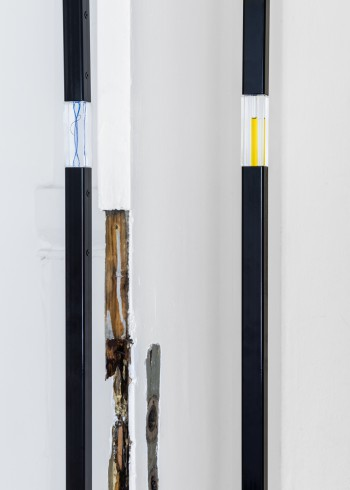 Flatlines, detail, 2015<br />