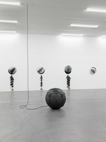 Disgorgers, installation view